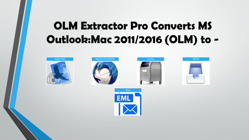 Import Outlook OLM into Apple Mail