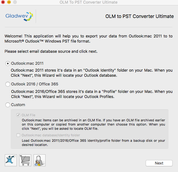 OLM to PST Converter for Migrating email from Mac Outlook to Windows