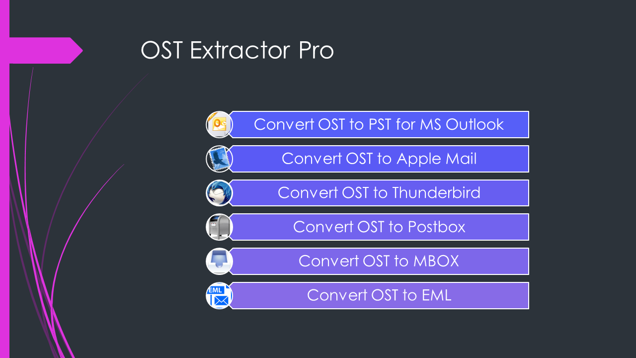 Open source ost to pst converter