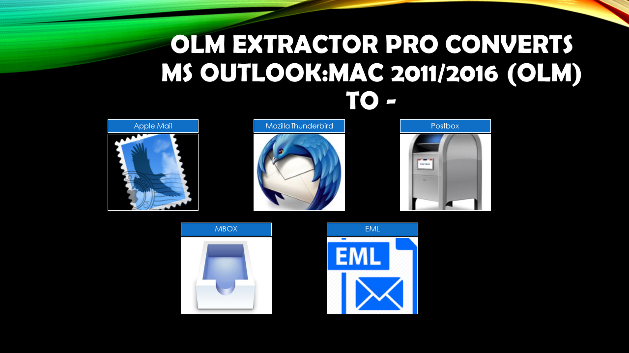 Outlook 2011 to Apple Mail Converter
